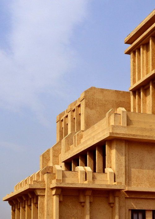 Minaret house in Noida, Uttar Pradesh, India by Chaukor ...