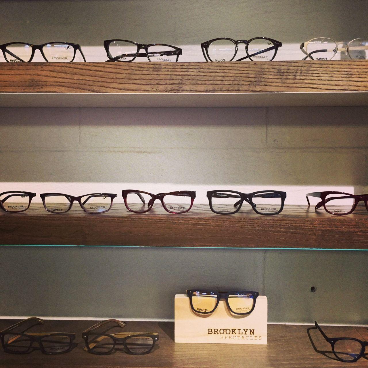 Eyeglasses display - Eyewear Display Reclaimed Wood Floating Shelves