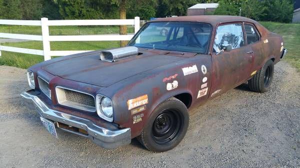 Rusty Racer 1974 Pontiac Ventura Barn Finds And Cars