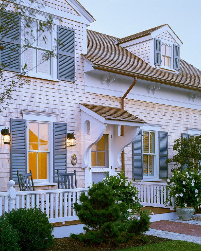 Image Result For Blue Cape Cod House Cape Cod Style House Traditional Exterior Cape Cod House