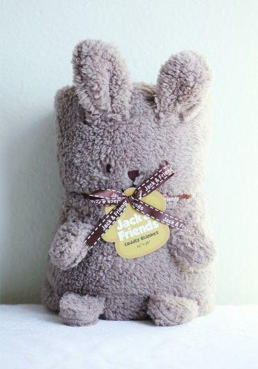 hug bunny blanket