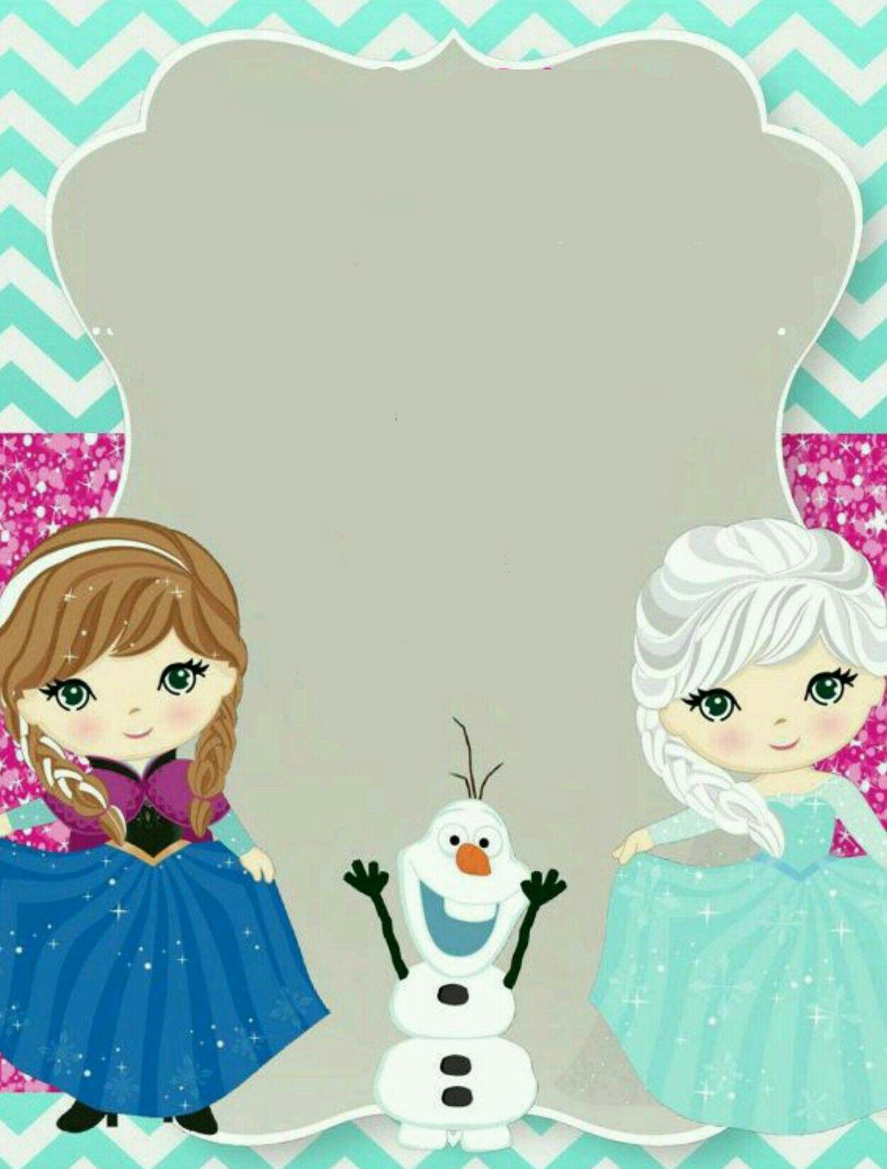 Plantilla Frozen | anna y elsa cumples | Pinterest | Eiskönigin