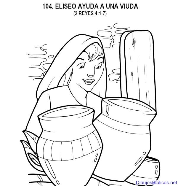 Eliseo Y La Viuda Actividades Buscar Con Google Sunday School Coloring Pages Elijah And The Widow Sunday School Crafts For Kids