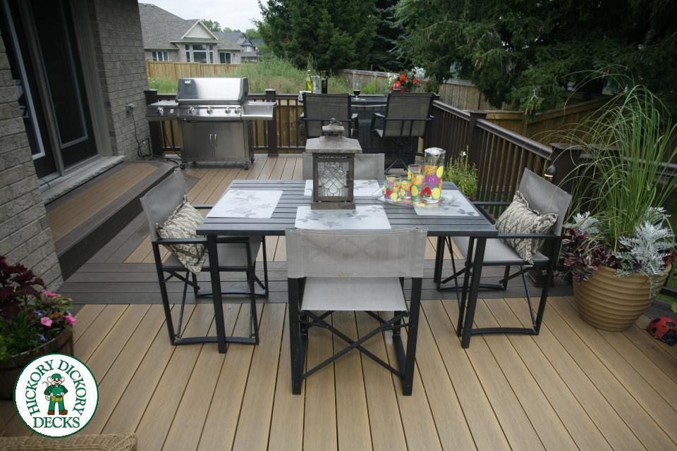 This Custom Deck Was Built In St Thomas Ontario By Our London