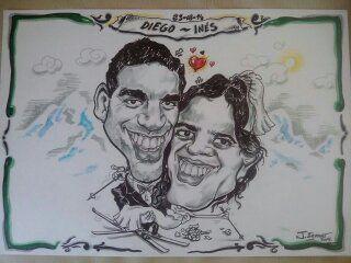 TOTAL ART SERVICIOS ARTÍSTICOS y ELCARICATURAS.ES: www.elcaricaturas.es (bodas y eventos)