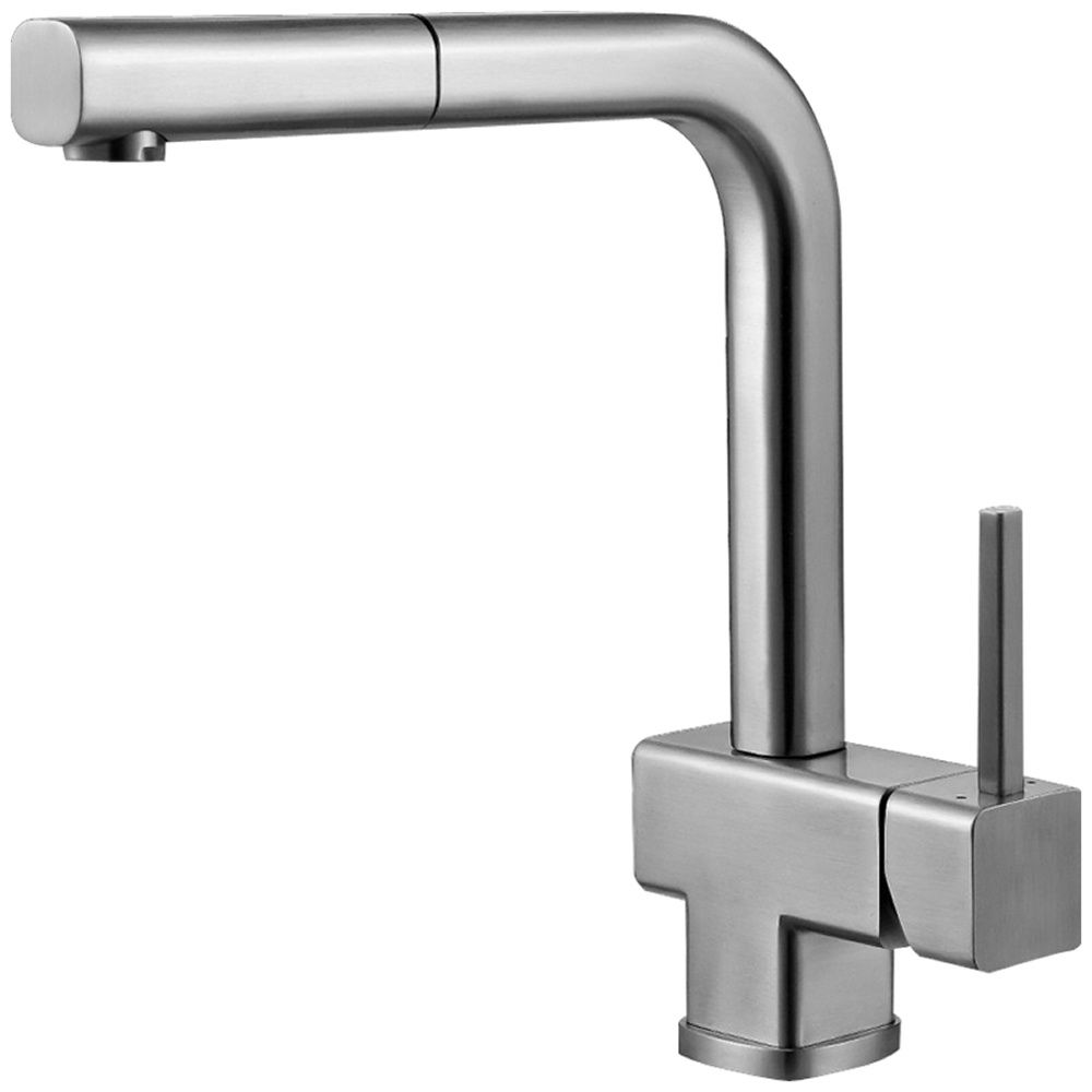 Good Buy Astini Ettore Brushed Stainless Steel Pullout Rinser Kitchen Sink Mixer  Tap From Taps UK, UKu0027s Specialist Kitchen Sinks And Taps Supplier.