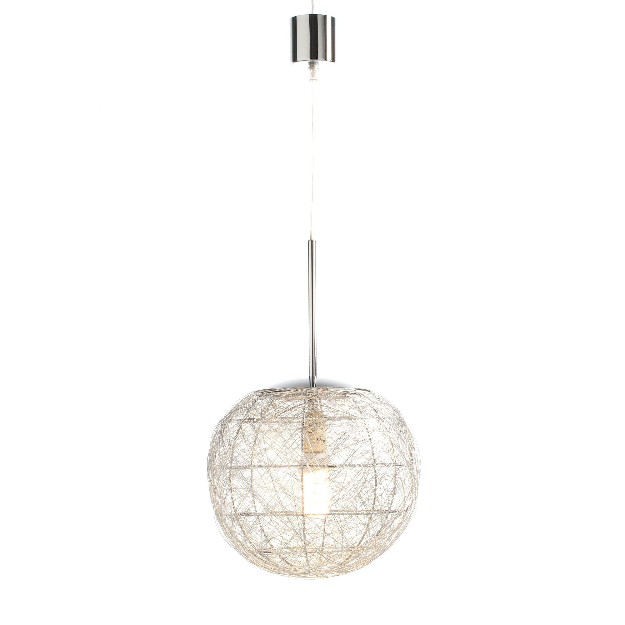 Boule Luminaire Suspension Boule Nickel Mat Filio Les Suspensions Et