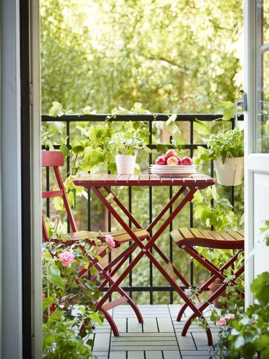 optischer Gesamteindruck Ideen rund ums Haus Pinterest Balkon