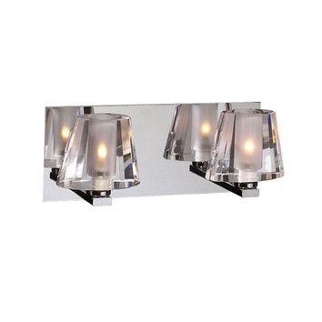 PLC Lighting Cheope 2 Light Vanity Light