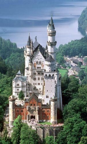 Schloss Neuschwanstein Bayern Deutschland Burgen Orte Dornroschenschloss
