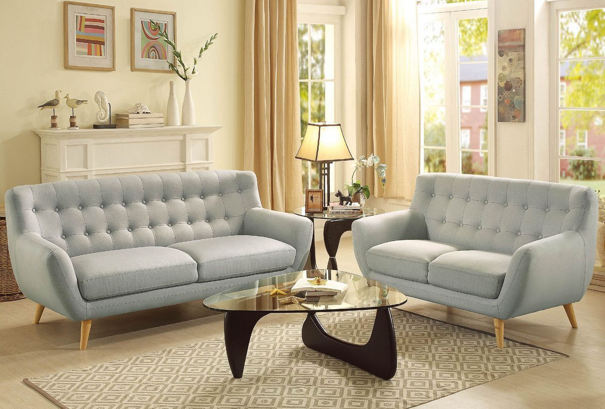 Home elegance anke collection love seat for loveseat