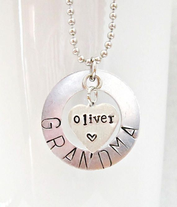 489ba07cd Nana Gift, Grandma Gift Personalized, New Grandma Gift, Nana Jewelry ...