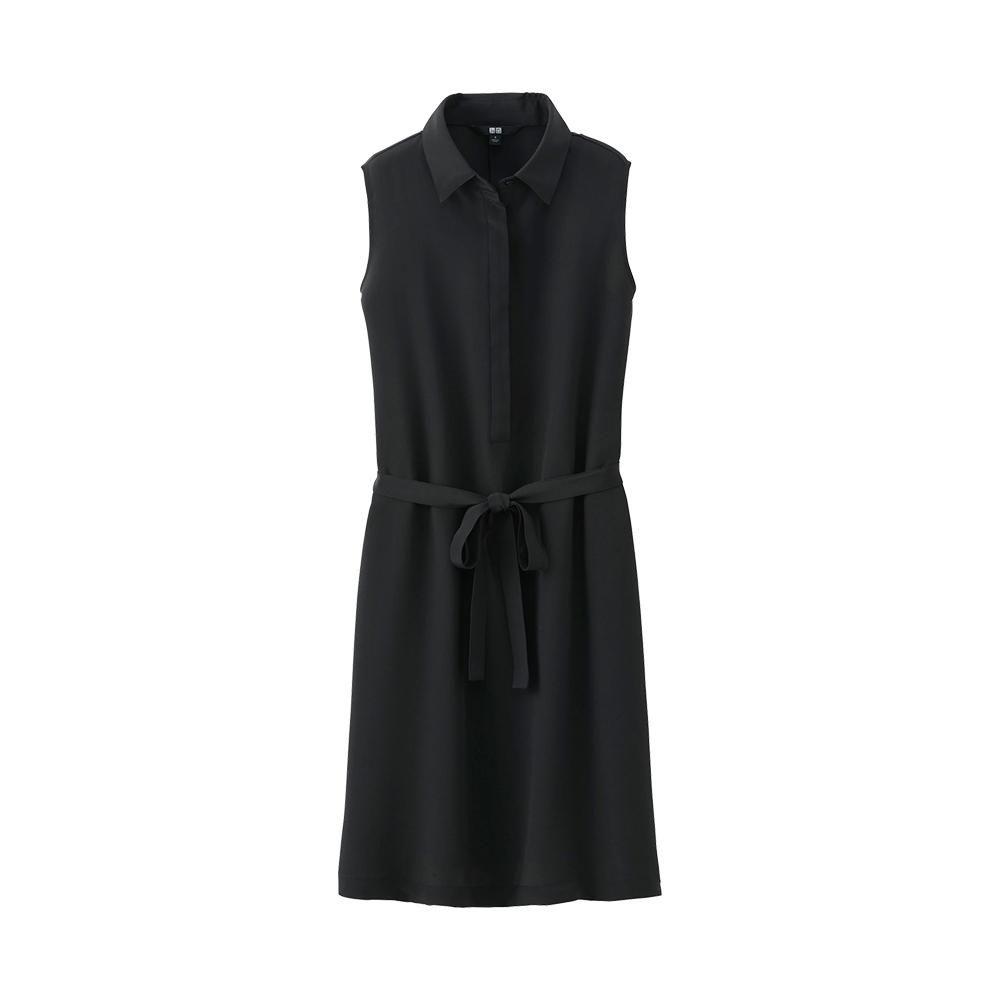 Uniqlo silk sleeveless dress stuff to buy pinterest uniqlo