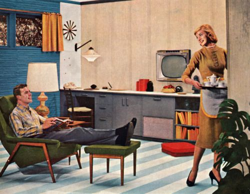 Masonite ad, 1958