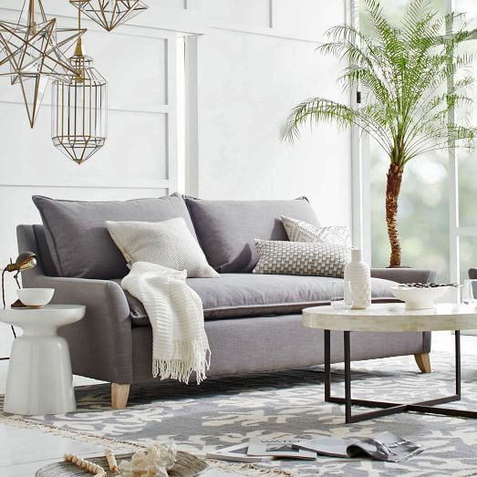 Superior Bliss Down Filled Sofa // Love This Couch. I Think A Dark Grey Or Blue  Couch Would Look Awesome In The Living Room