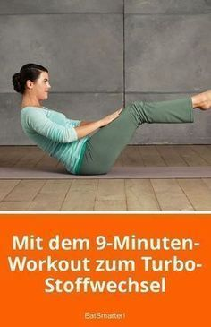 Mit dem 9-Minuten-Workout zum Turbo-Stoffwechsel | eatsmarter.de #fitness #sport #training #abnehmen...