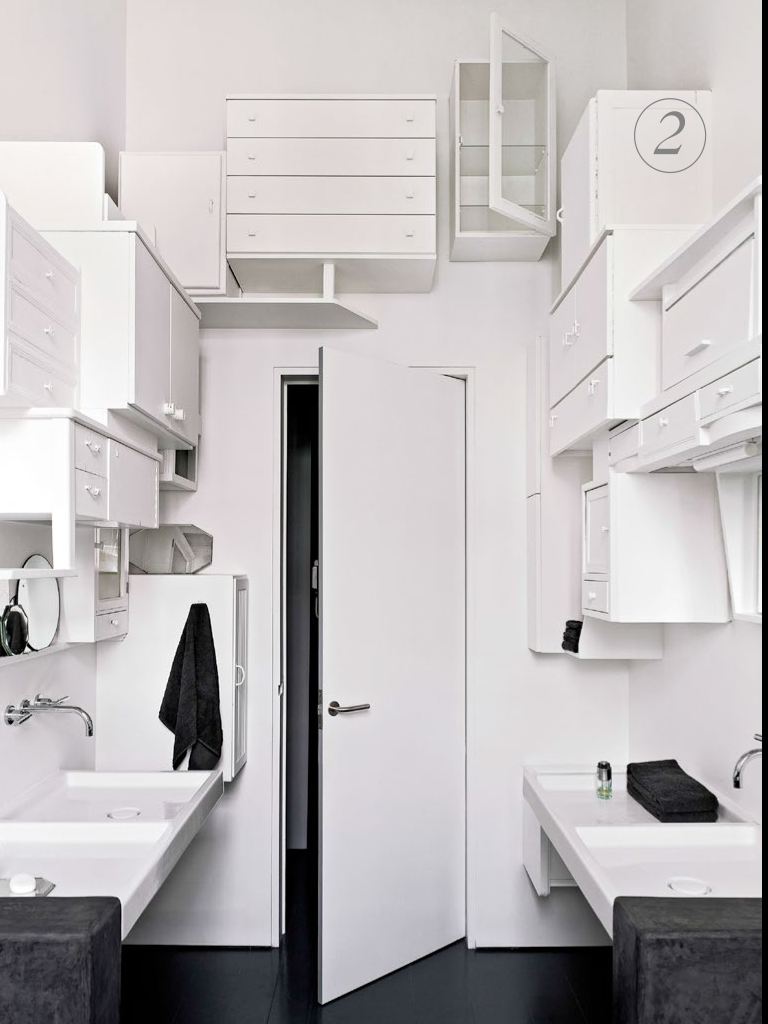 A quirky approach to bathroom storage. From Dec 2012 (and a recent ...