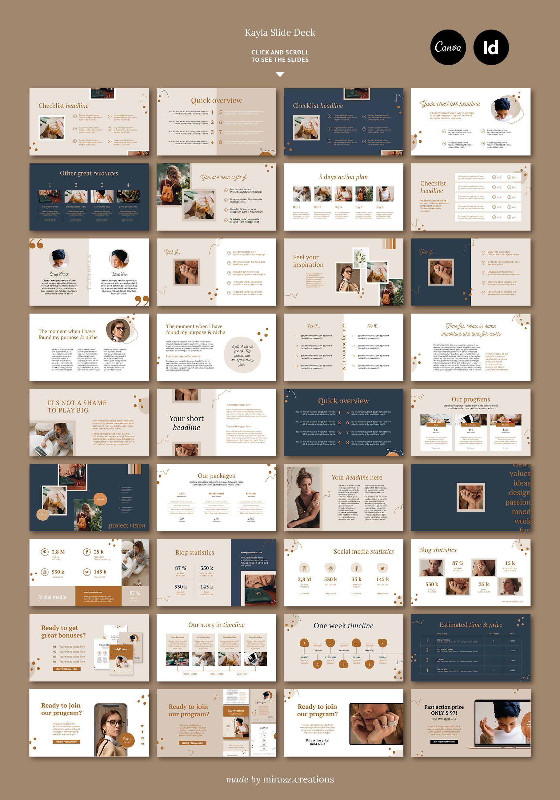 Webinar Course Slide Deck / Kayla