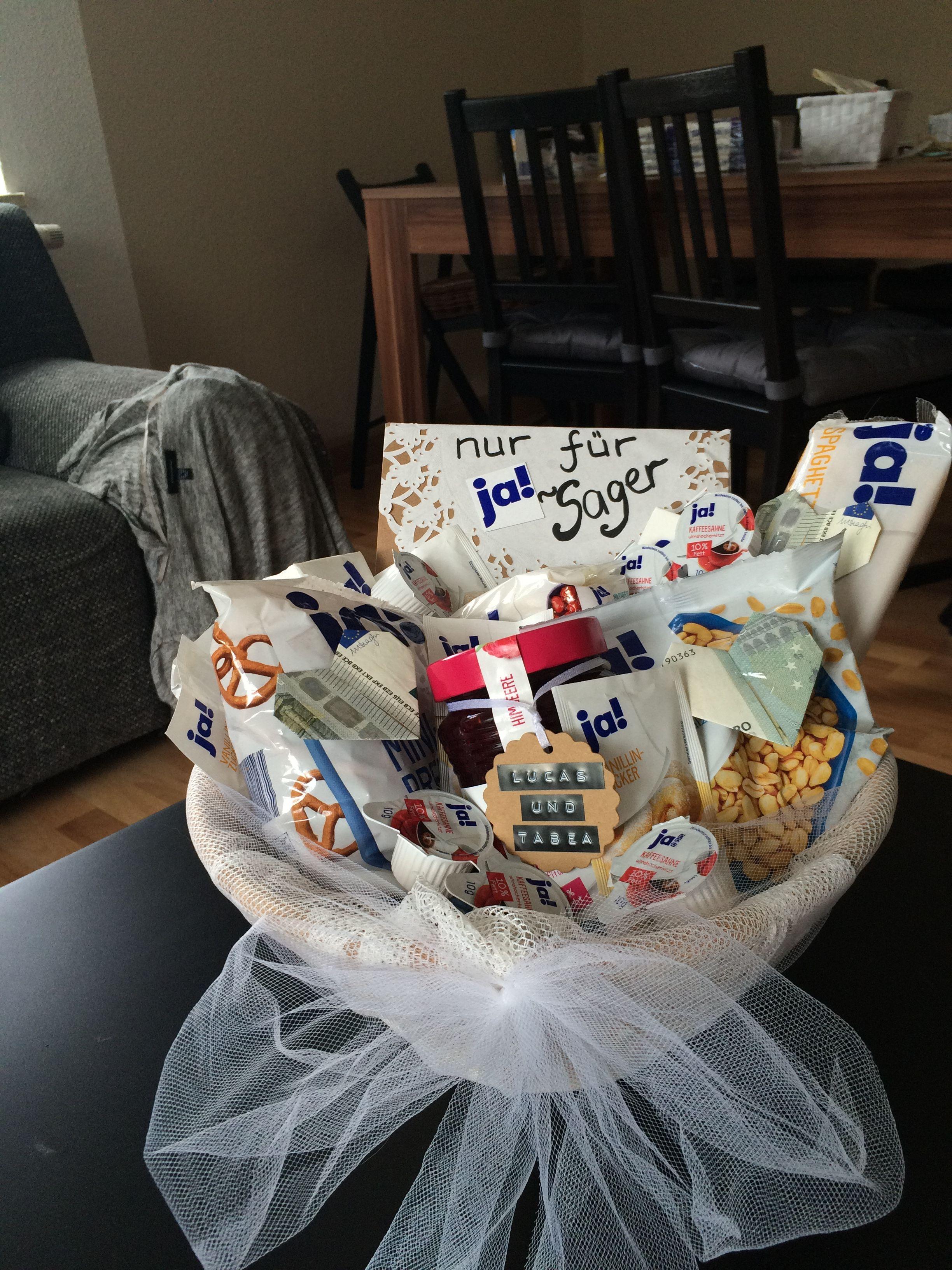 Hochzeitsgeschenk Idee Ja Sager  Geschenkidee  Geschenk hochzeit Geldgeschenke hochzeit und