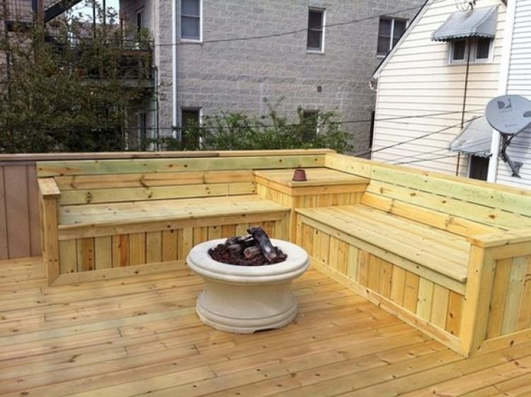 115 Creative Deck Design Ideas Outdoor Bench Seating Deck Bench Diy Bench Outdoor