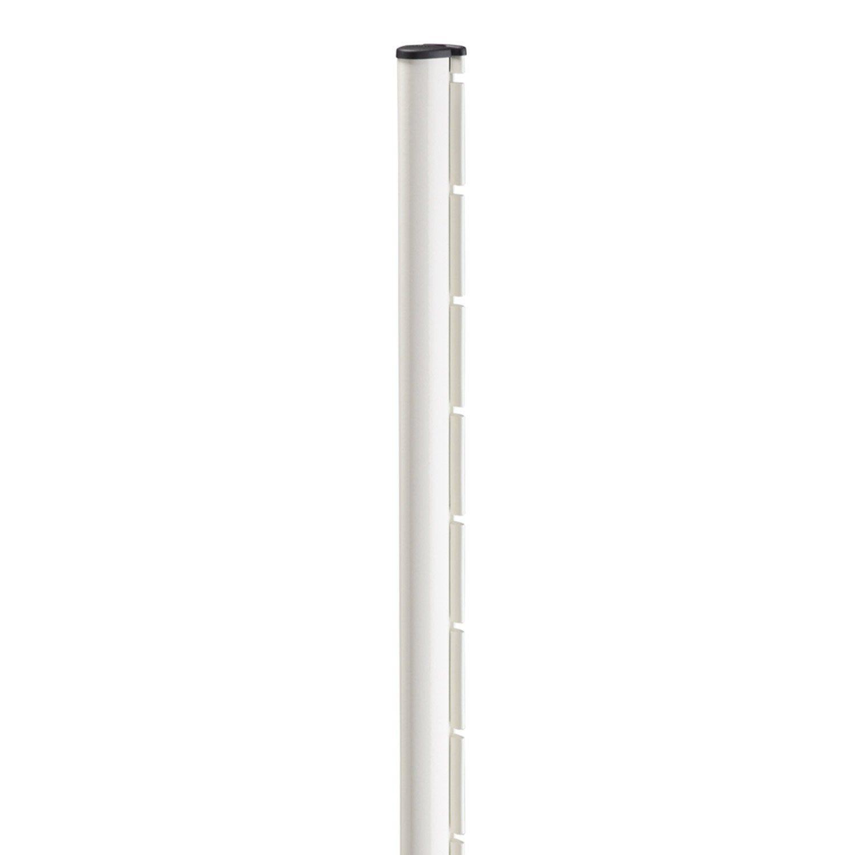 1 Poteau à Encoche Axor Blanc L48 X P68 X H120 Cm
