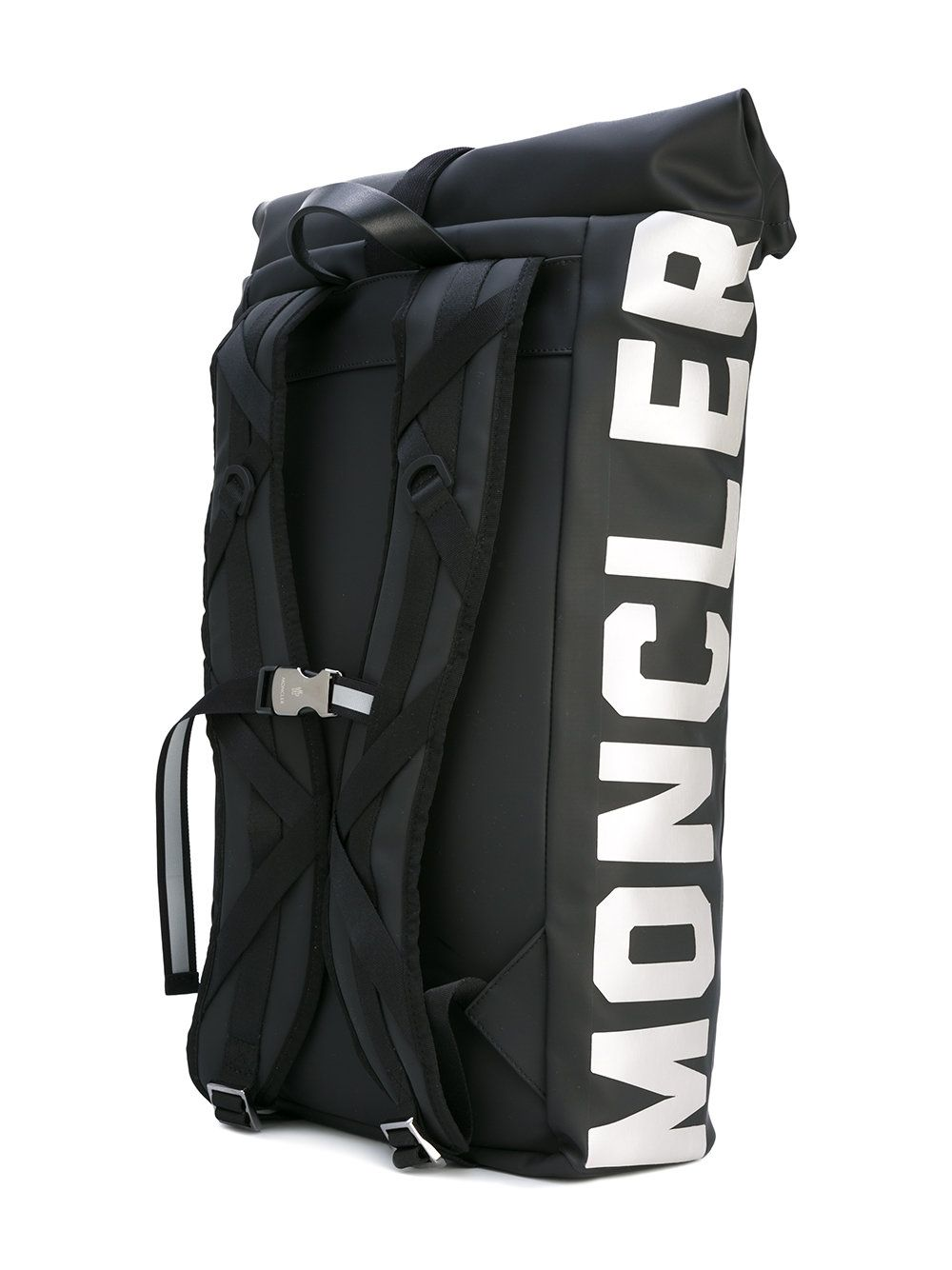 sports shoes 5fdd4 9a5ac Moncler X Off-White buckle front backpack