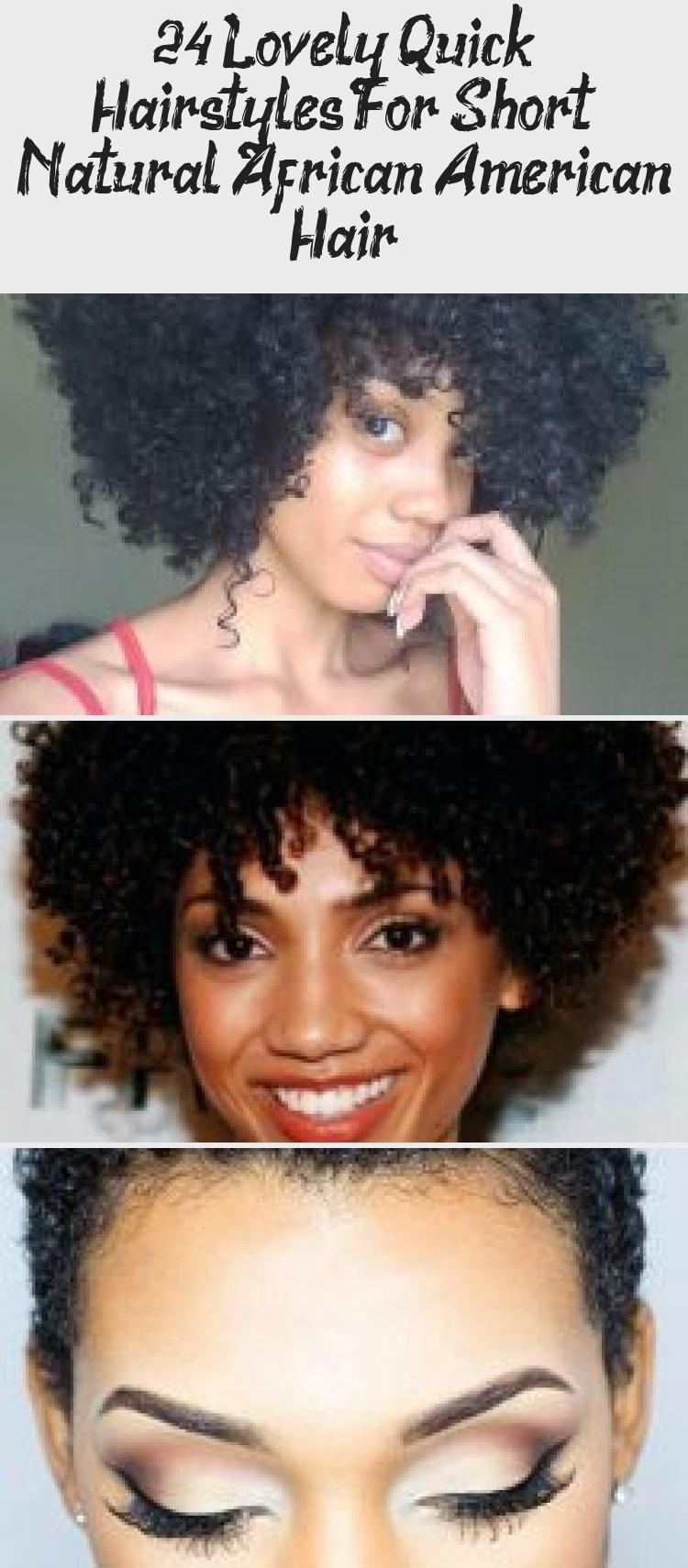 Photo of 24 Lovely Quick Hairstyles For Short Natural African American Hair – Pinokyo Qui…