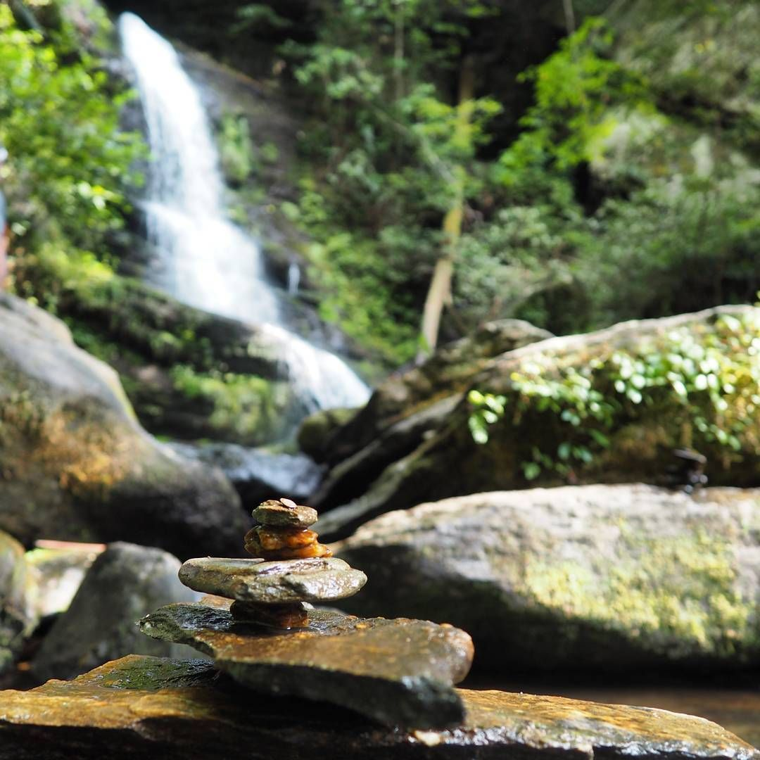 Chasing waterfalls on lake jocassee an ideal spot for