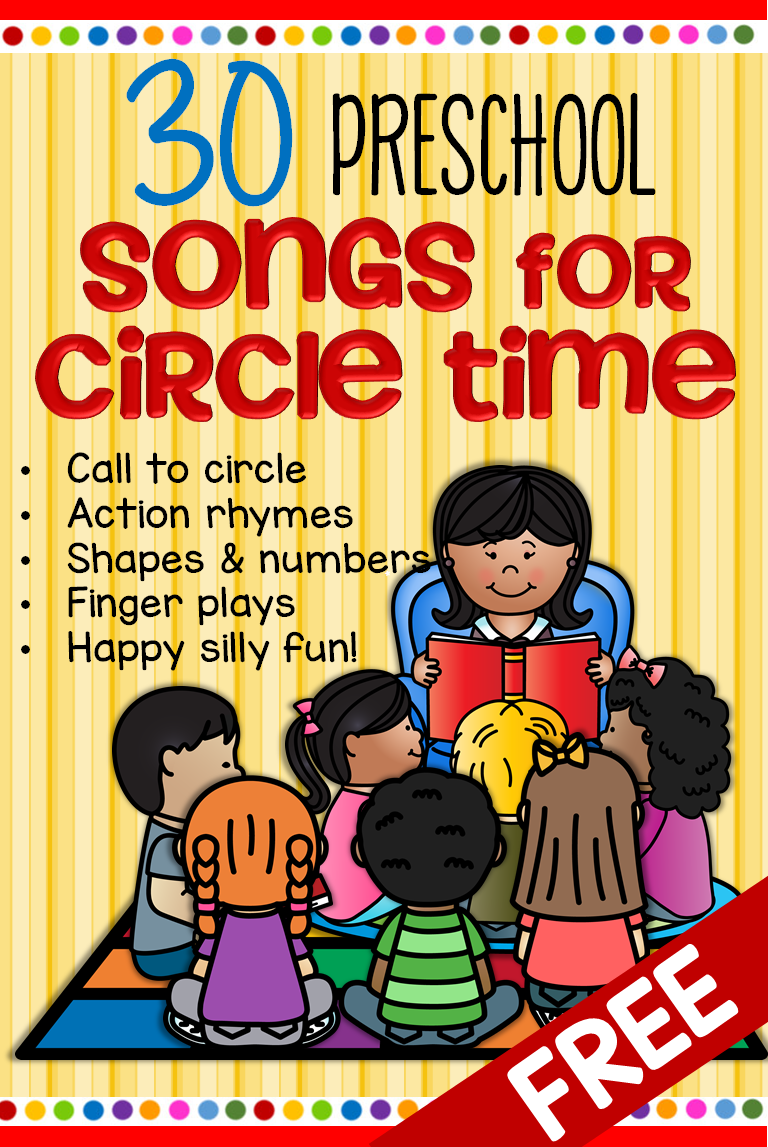 30 Free Songs for Circle Time