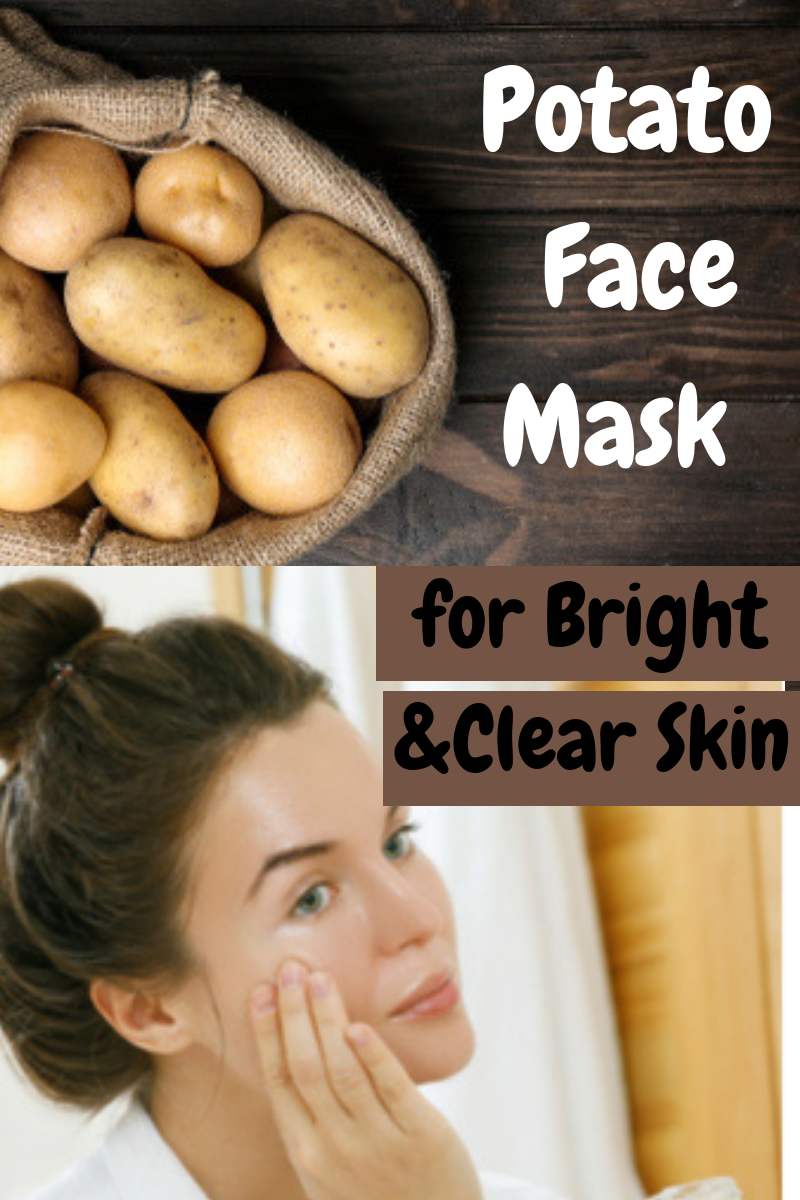 Potato Face Mask for Bright and Clear Skin is part of Potato face mask - Potato juice can be a beneficial ingredient for making the skin bright and clear  Potato juice helps greatly in purifying the skin as well  It is great for sensitive skin as well since it is very mild yet effective on the skin  It has the following benefits for the skin Helps in soothing irritated skin …