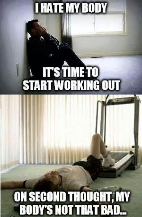 I hate my body...