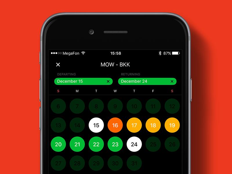 Price Calendar 2 2 Productivity Calendar Todo App Ui App
