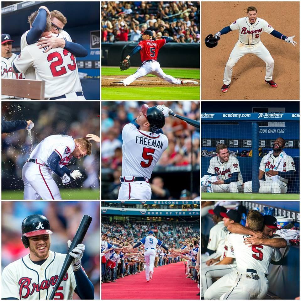 Happy Birthday Freddie Freeman 9 12 Atlanta Braves Baseball Braves Baseball Braves