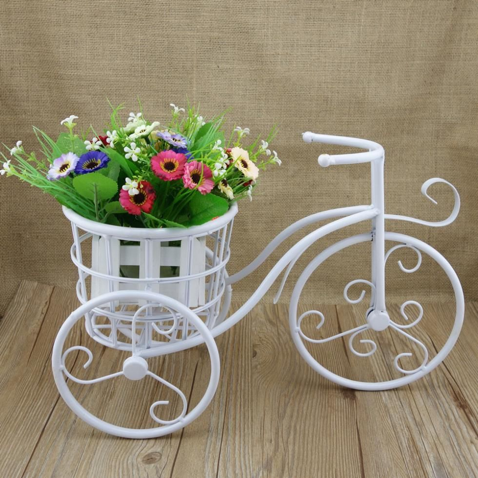 Enchanting accessories for garden decoration with bicycle planter stand engaging image of - Garden decor accessories ...