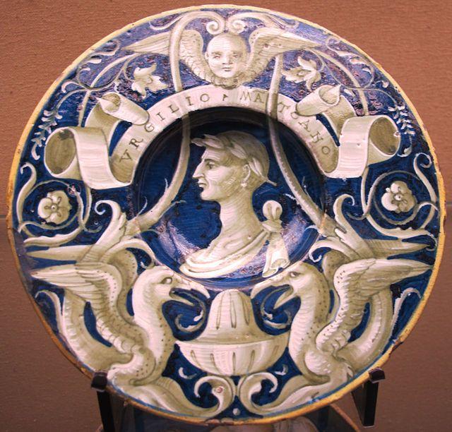 Urbino, profile bust of Virgil, 1530 ca..JPG
