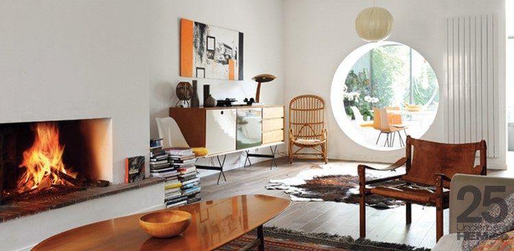 Deco Vintage Les Secrets Pour Creer Un Interieur Retro Idee Deco Salon Idees De Decoration De Salon Interieur Maison