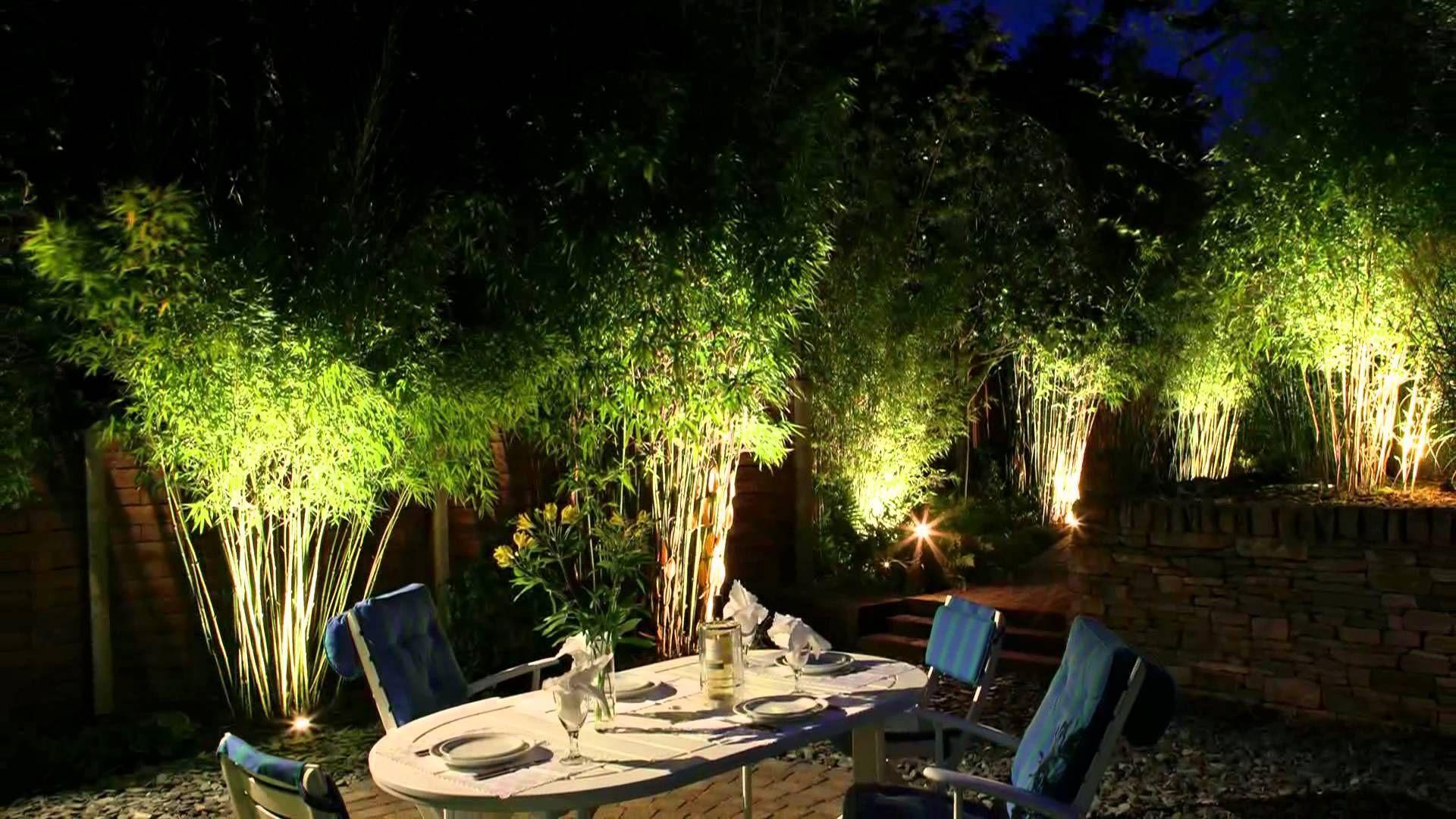 Garden Lights Ideas Garden Lights Moonlight Design Garden Lighting Speciali Nel 2020 Illuminazione Giardino Esterno Giardini Da Balcone Piccoli Giardini Contemporanei