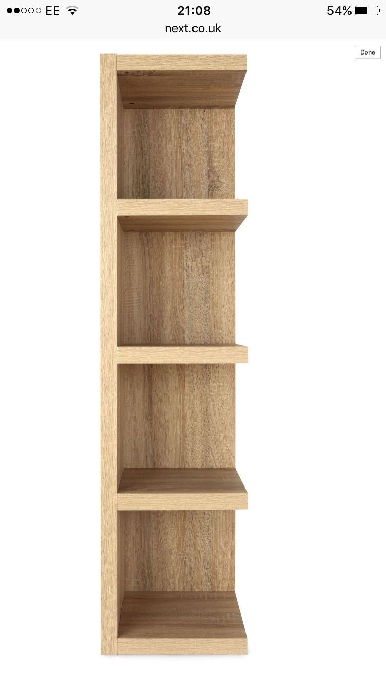 Next Corsica Corner Shelves Shelves Bookcase Shelves
