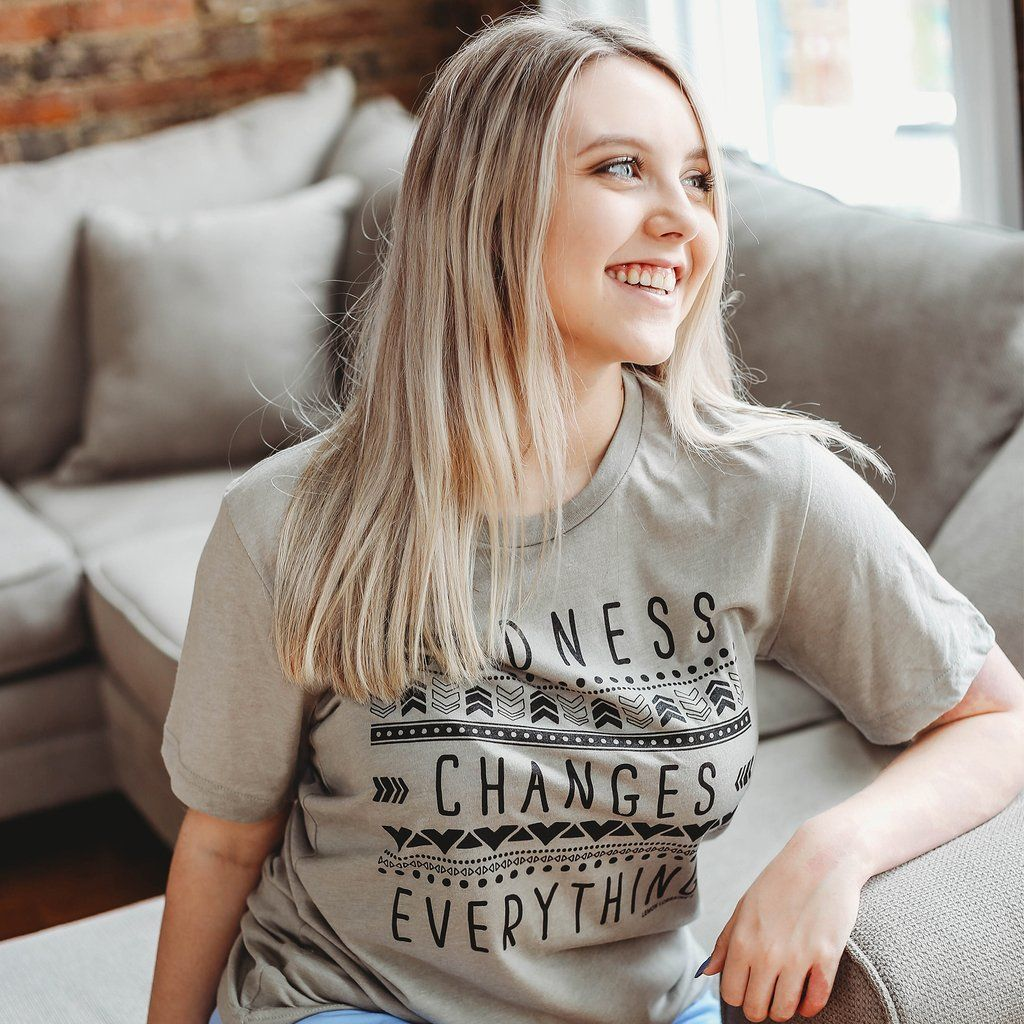 14c9164f KINDNESS CHANGES EVERYTHING Graphic Tee in 2019 | Graphic Tees ...