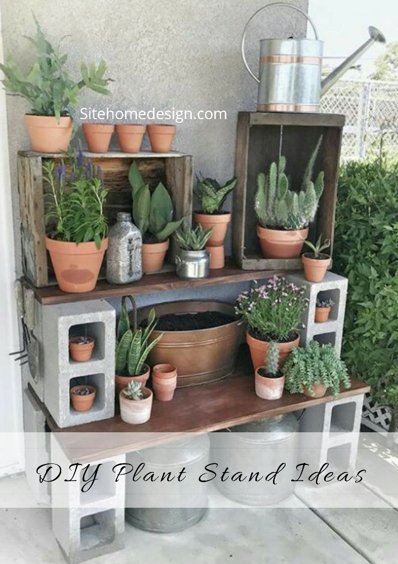 20 Do It Yourself Plant Stands That Let You Discover Your Creativity Diy Plant Stand Plant Stand Plants