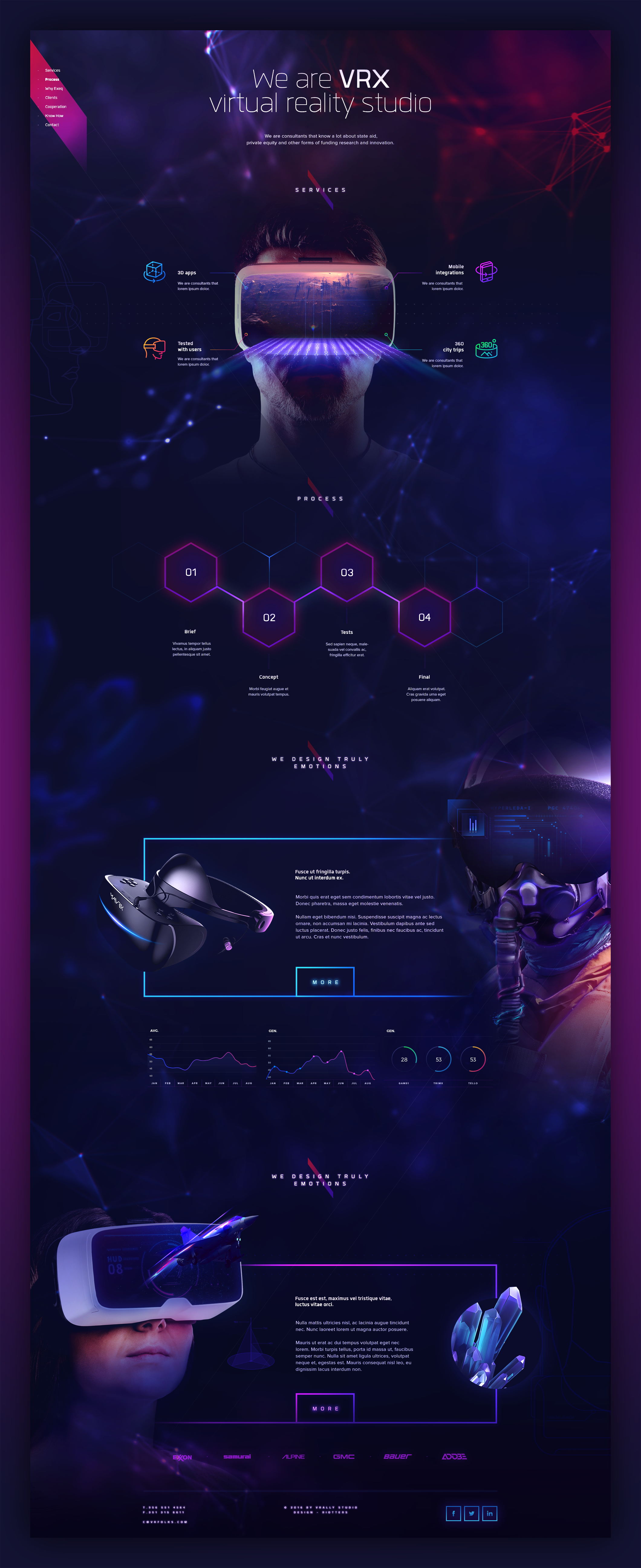 Dribbble fullg by riotters website design pinterest ui