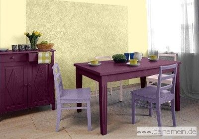 Esszimmer farbgestaltung  Farbgestaltung für ein Esszimmer in den Wandfarben: My Sunrise ...