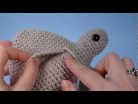 Como emendar invisível o croche.