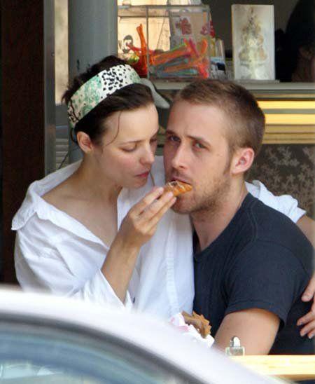 Jake Gyllenhaal Watching Then Girlfriend Kirsten Dunst Eat a