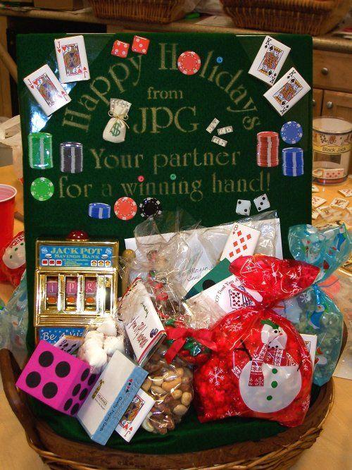 Employee Gift Basket Casino Themed Employee Gifts Baskets Theme Baskets Employee Gifts