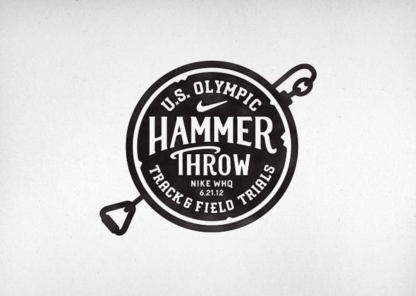 Hammer throw logo
