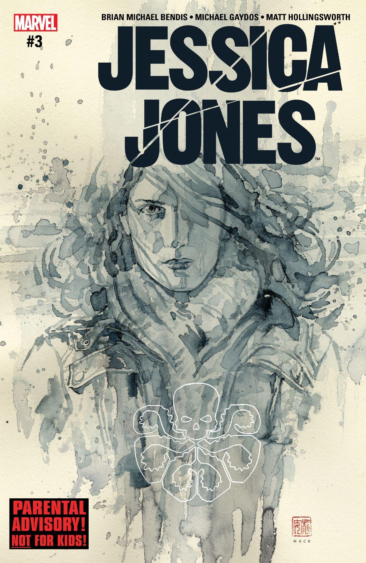 Jessica Jones (2016) #3 #Marvel @marvel @marvelofficial #JessicaJones (Cover Artist: David Mack) Release Date: 12/14/2016