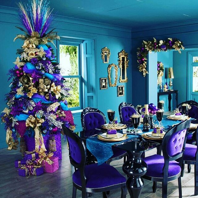 Have yourself a purple little Christmas