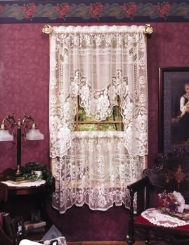 Victorian Rose Curtains by Heritage Lace | Heritage Lace Curtains ...