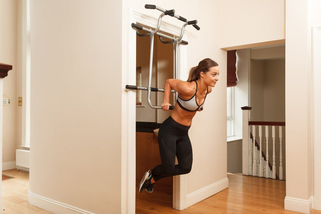 Shamrock Triple Pullup Dip and Suspension Door Gym & Shamrock Triple Pullup Dip and Suspension Door Gym | Fitness ...
